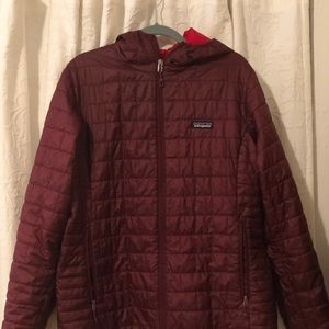 Patagonia Women's XL jacket with hood